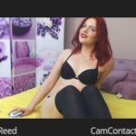 Webcam cutie with red hair wants to show you her wet pussy on c2c